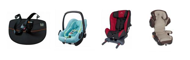 Babyschalen, Reboarder und andere Kindersitze in Husum